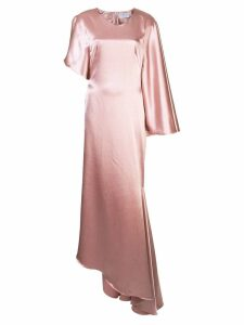 Osman Minellie draped gown - Pink