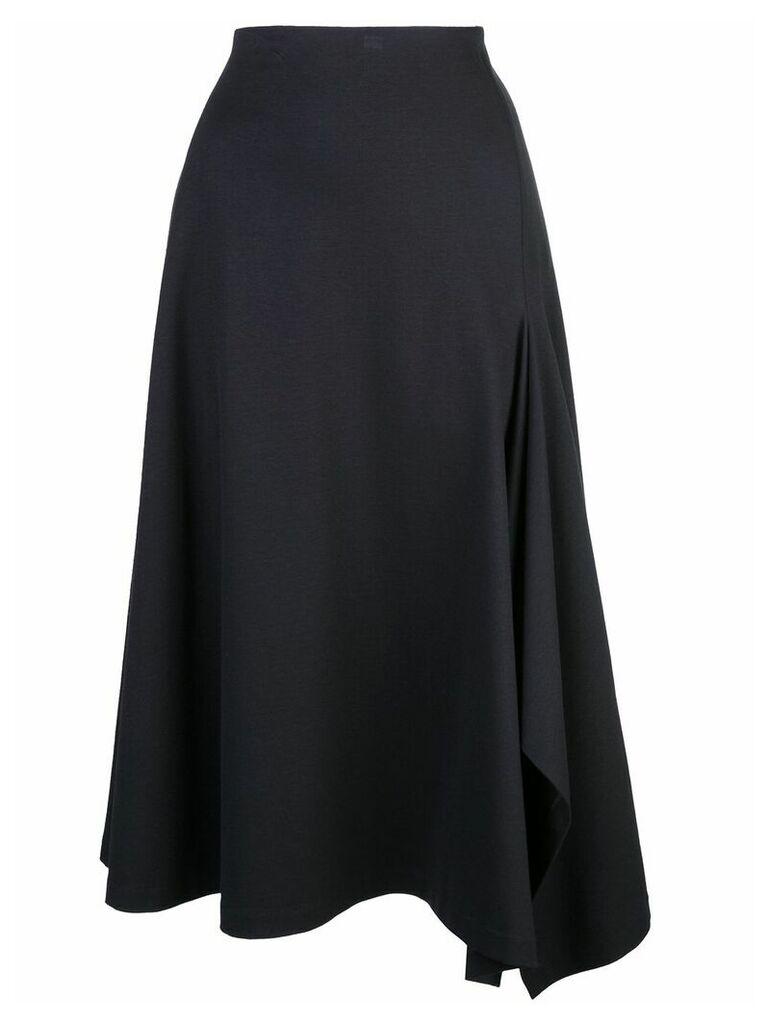 Rosetta Getty scarf hem skirt - Black