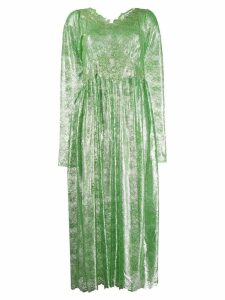 Paco Rabanne lace midi dress - Green