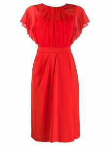 Max Mara Studio Otto Cady dress - Orange