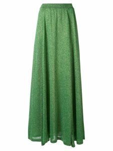 Missoni lamé full skirt - Green
