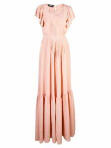 Rochas Onice ruffle gown - Pink