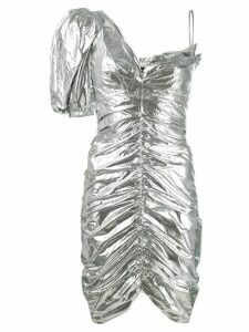Isabel Marant metallic party dress - Silver