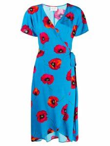 Cecilie Copenhagen 'Carine' Wrap Dress - Blue
