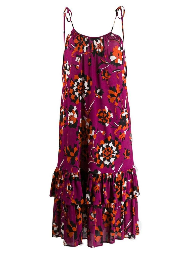 La Doublej Simps midi dress - Purple