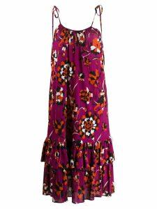 La Doublej Simps midi dress - Purple