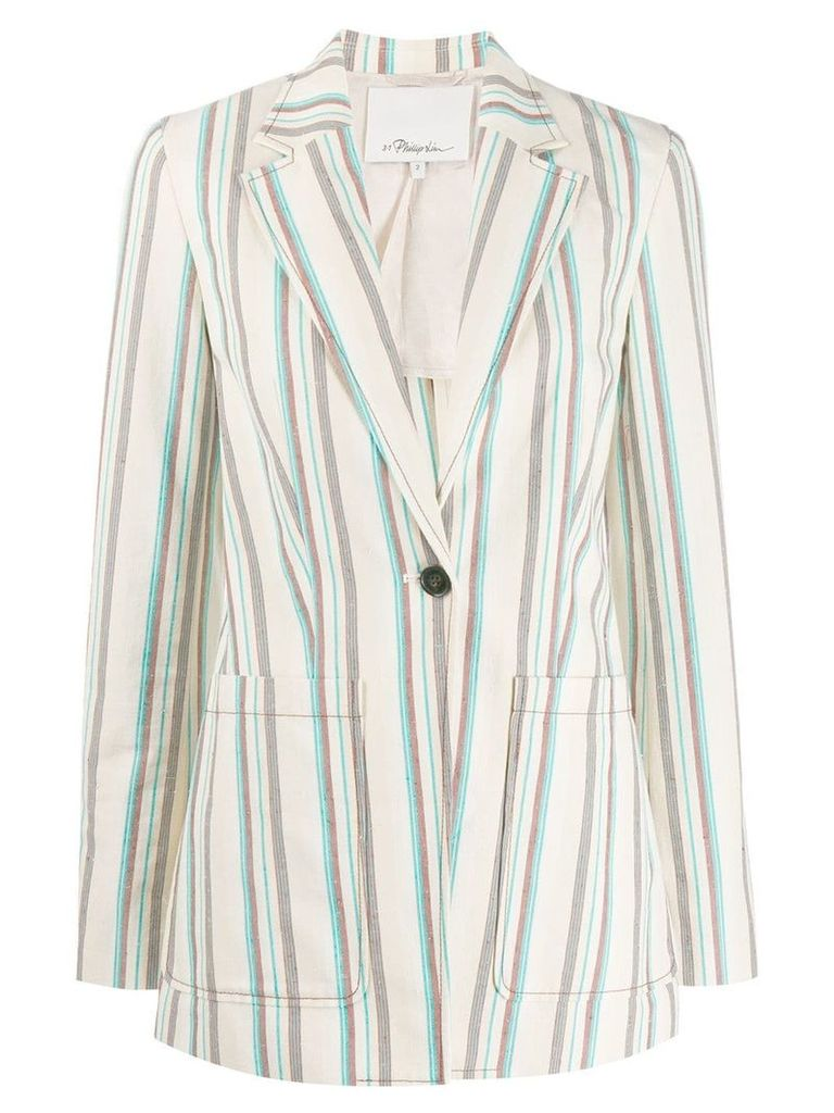 3.1 Phillip Lim striped blazer - Neutrals