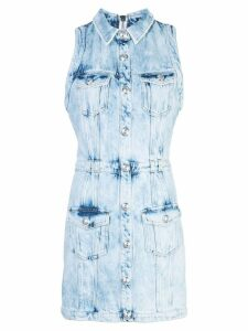 Balmain denim dress - Blue
