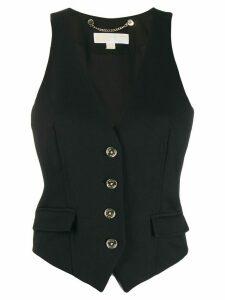 Michael Michael Kors slim waistcoat - Black