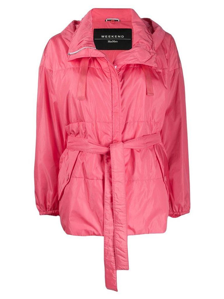 Weekend Max Mara hooded raincoat - Pink