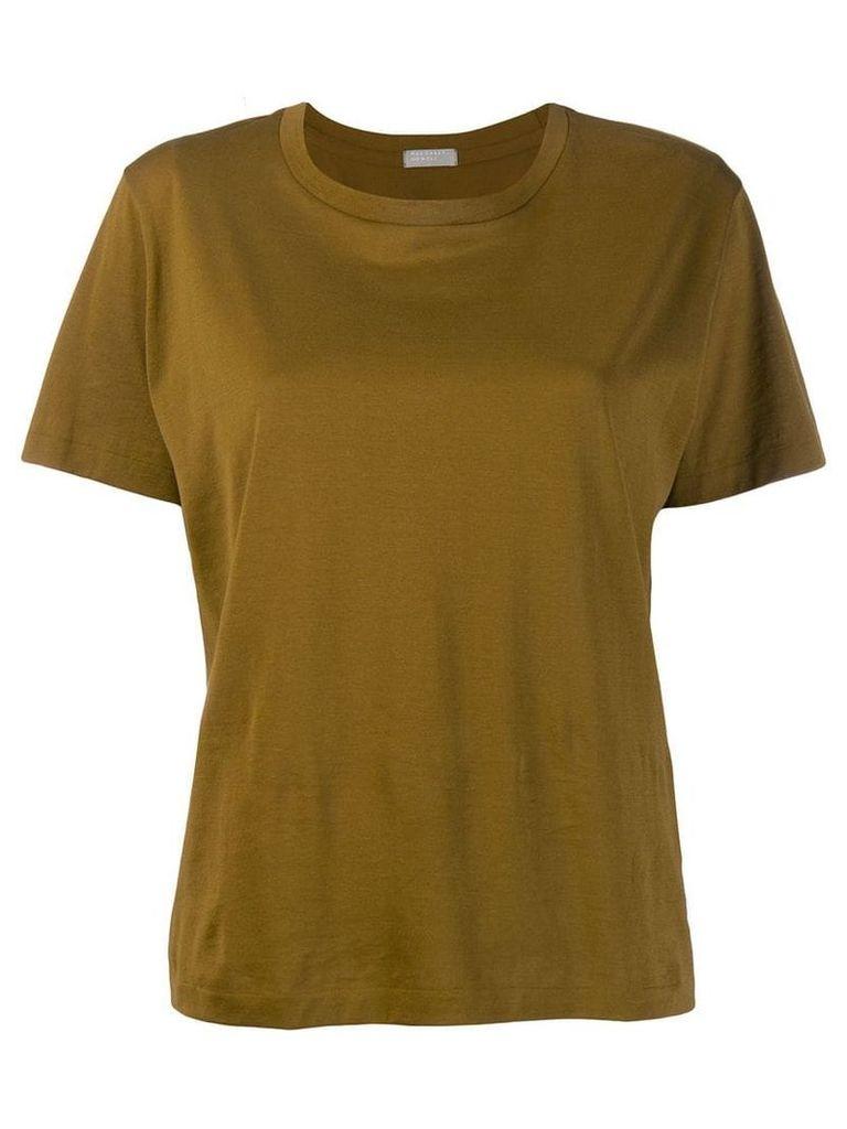 Margaret Howell short-sleeve fitted T-shirt - Green