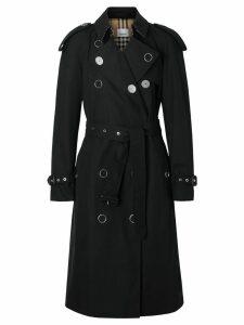 Burberry Kensington Heritage Trench Coat - Black