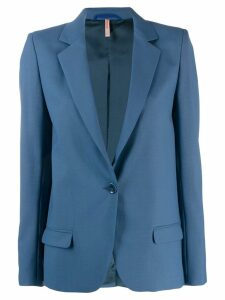 Indress classic fitted blazer - Blue