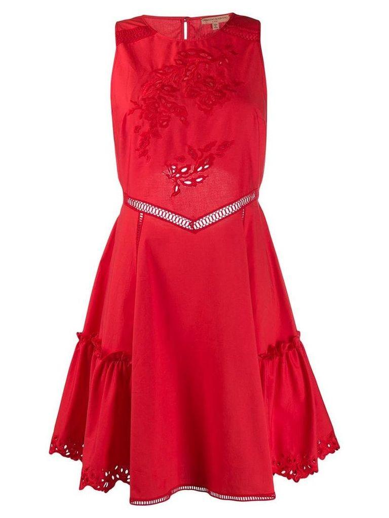 Ermanno Scervino floral embroidered dress