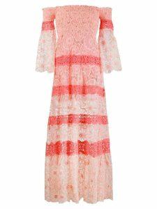 Temptation Positano off-shoulder maxi dress - Pink