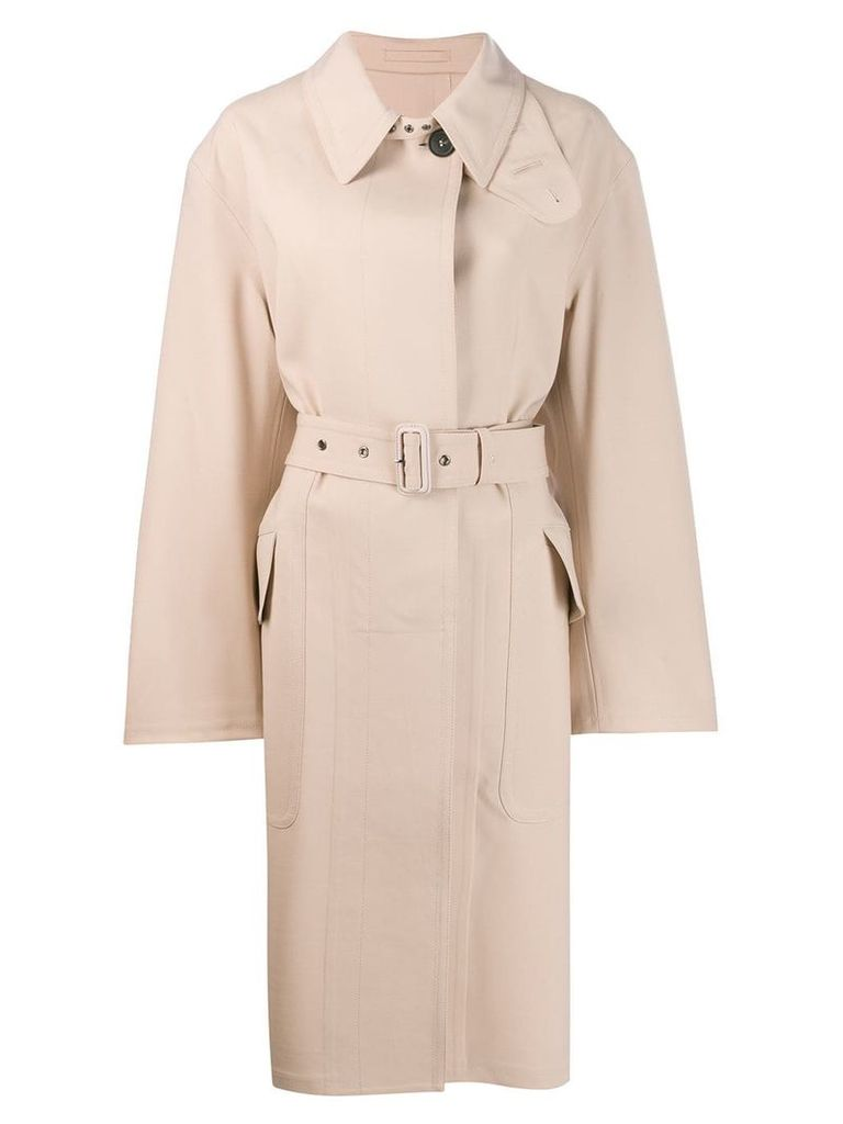 Tom Ford single-breasted trench coat - Neutrals