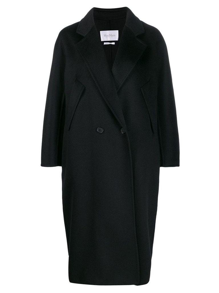 Max Mara oversized coat - Black