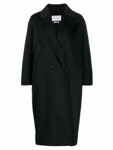 Max Mara oversized coat - Black