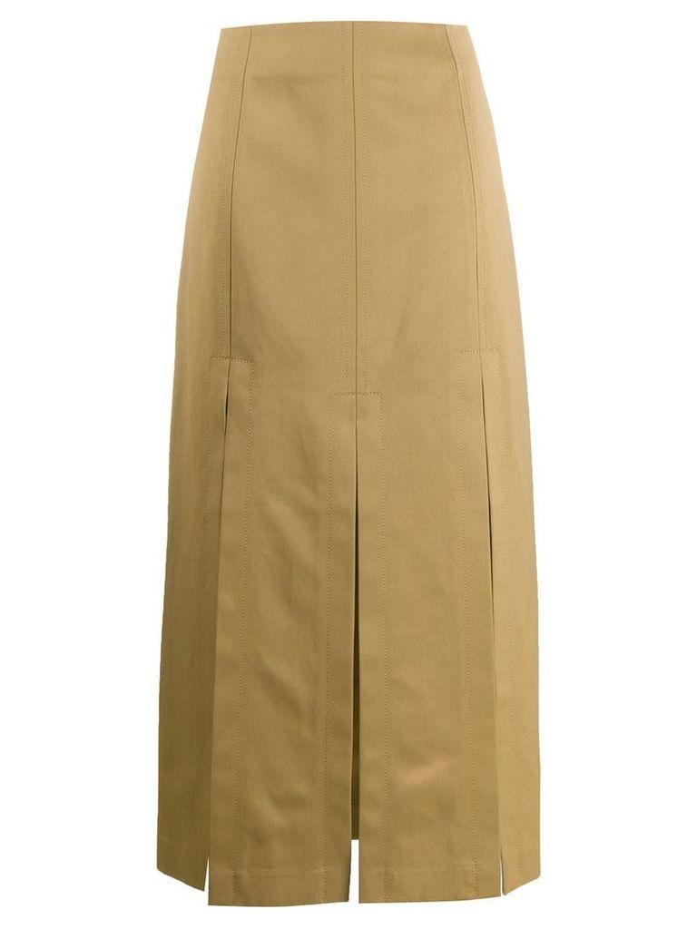 3.1 Phillip Lim multiple slit skirt - Black