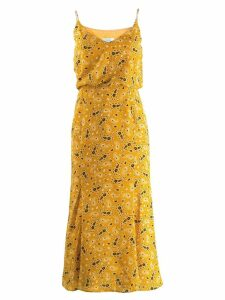 Jovonna patterned midi dress - Yellow