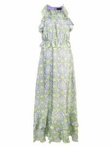 Cynthia Rowley Willow Creek halterneck dress - Purple