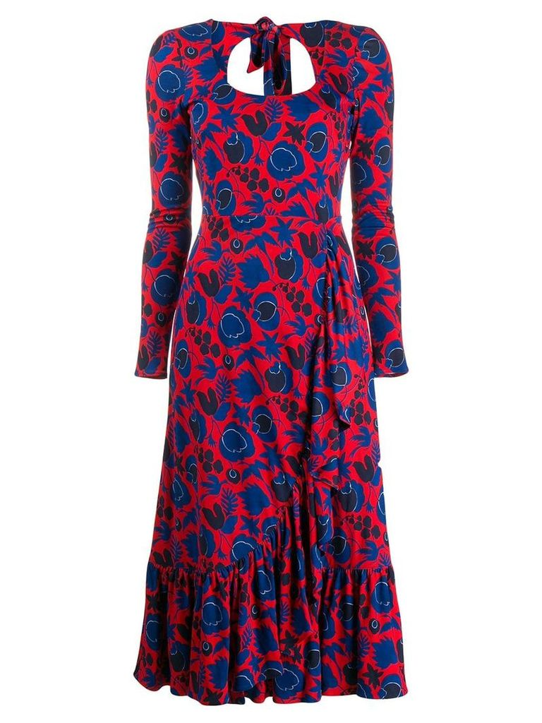 La Doublej Surf Jazzy Dress - Red