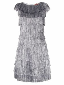 Missoni fringed dress - Silver