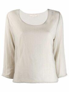 Elsa Esturgie relaxed-fit blouse - Grey
