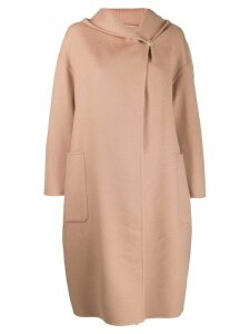 Max Mara hooded coat - Neutrals