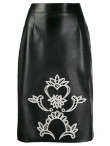 ALEXANDER MCQUEEN knee length pencil skirt - Black