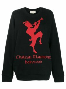Gucci Chateau Marmont sweatshirt - Black