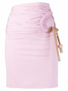 Ports 1961 rope detail skirt - Pink