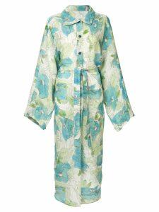 Lemaire floral print shirt dress - Multicolour