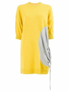 JW Anderson ruched detail jumper - Yellow
