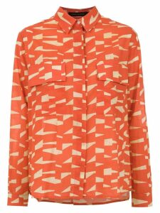 Andrea Marques printed shirt - Orange