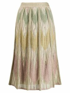 M Missoni metallic knitted skirt - Gold