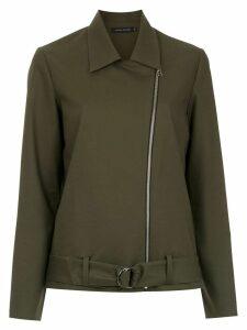 Andrea Marques biker jacket - Green