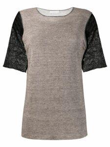 Fabiana Filippi two tone midi dress - Neutrals