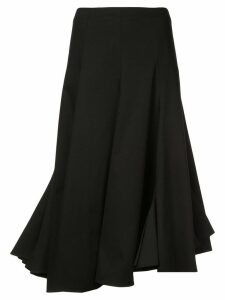 Tome flared midi skirt - Black
