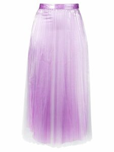 Priscavera high-rise pleated skirt - PINK