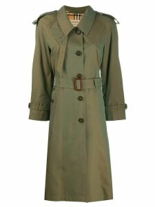 Burberry Crostwick trench coat - Green