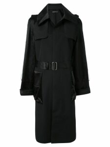 Undercover belted trench coat - Black