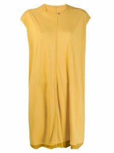 Rick Owens Lilies boxy fit dress - Yellow