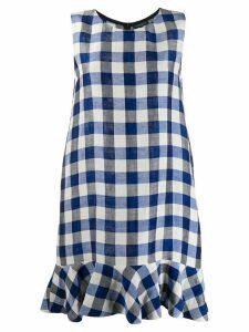 Antonelli gingham dress - Blue