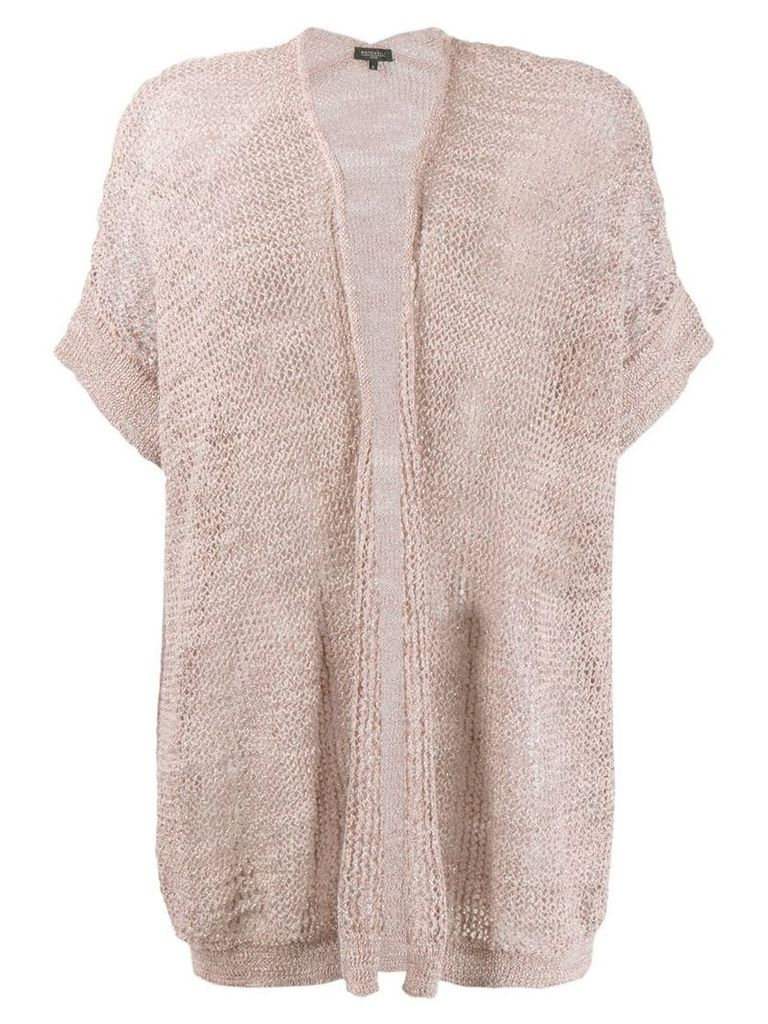 Antonelli knitted cardigan - Neutrals