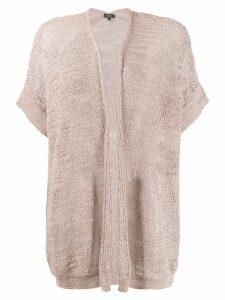 Antonelli knitted cardigan - Neutrals