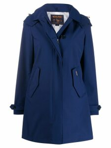 Woolrich Charlotte hooded coat - Blue