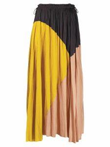 Ulla Johnson colour-block flared skirt - Black