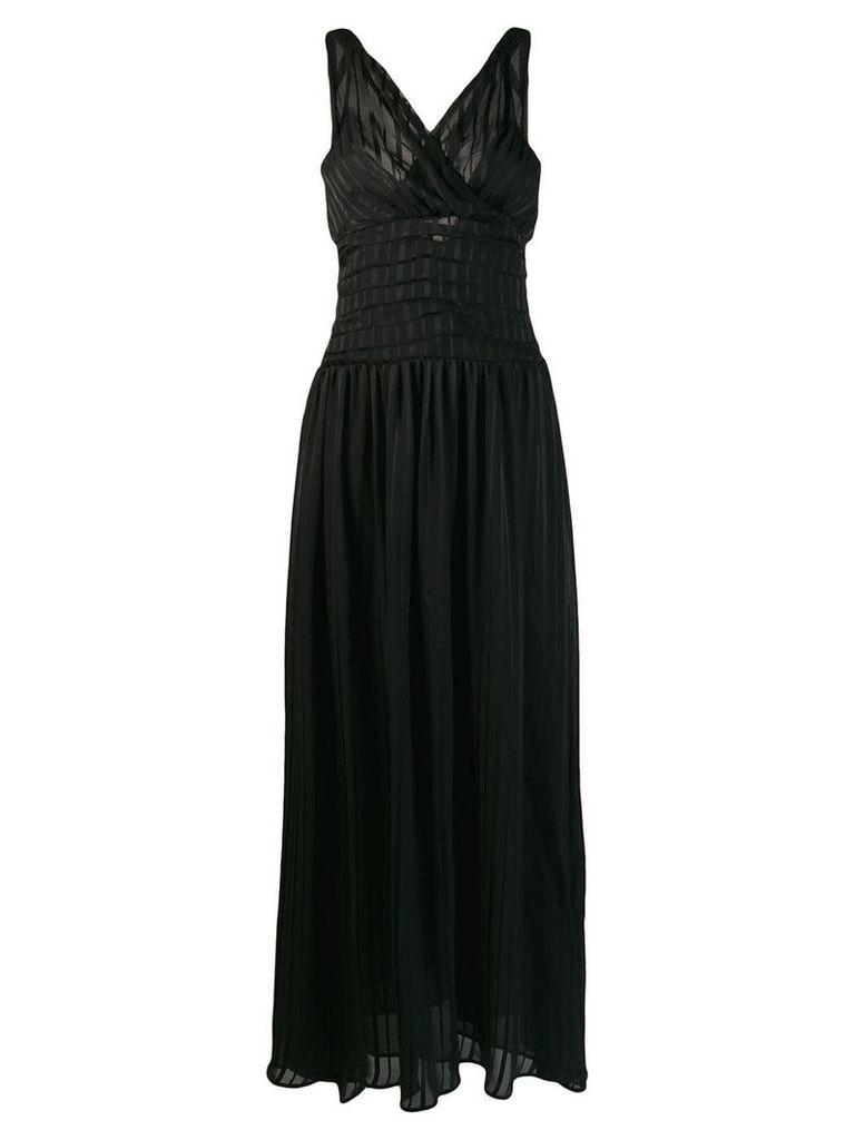 Marc Ellis pleated waist dress - Black