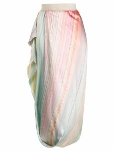 Poiret Isabella draped cocoon skirt - PINK